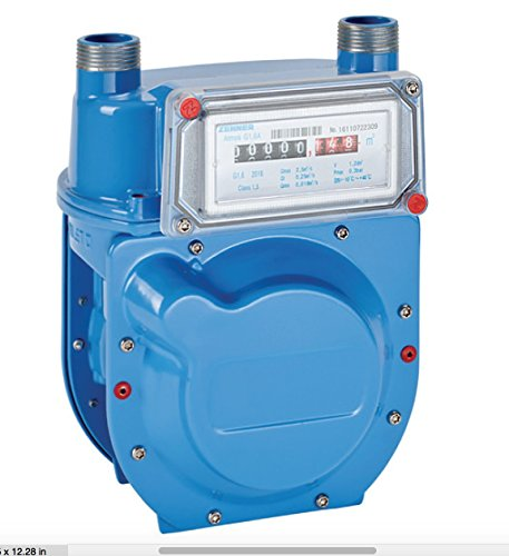 Gas Meter SUBMETER lease tenants G1.6 Propane Natural Gas Compact gasmeter by gasFlex