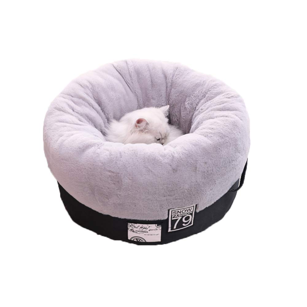 LDDPP Cat's Basket Detachable Cat's Bed Cat's Bed Dog's Heating Heating Home Dog Kennel Soft Cat for Small Winter Dogs Nest