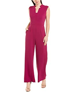 RUIDIYA Womens V Neck Casual Vertical Striped Jumpsuit Rompers with Belt