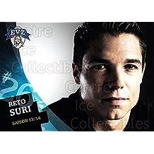 (CI) Reto Suri Hockey Card 2013-14 Swiss EV Zug Postcards 25 Reto Suri
