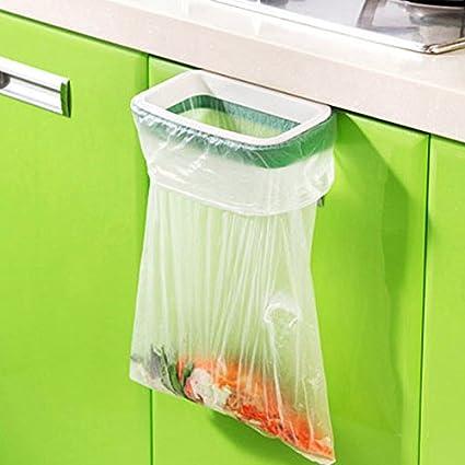 Amazon Com Cupboard Door Back Trash Rack Storage Garbage