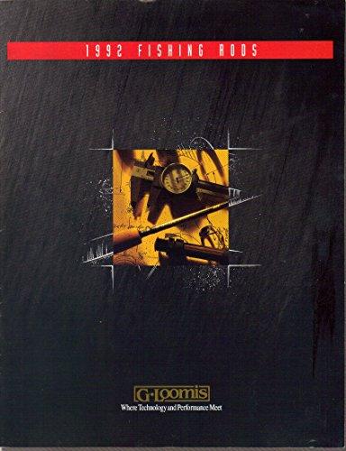 G Loomis Fishing Rods Catalog (1992) (Premier Rod Travel)