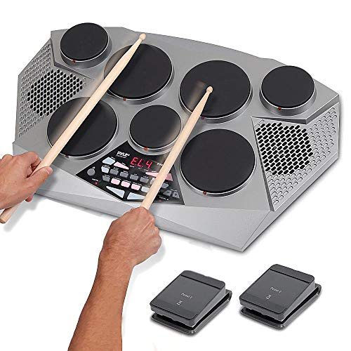 Pyle Pro Electronic Drum kit - Portable Electric