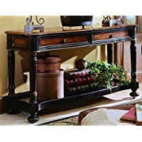 Hooker Furniture Preston Ridge Sofa Table in Cherry/Mahogany Finish