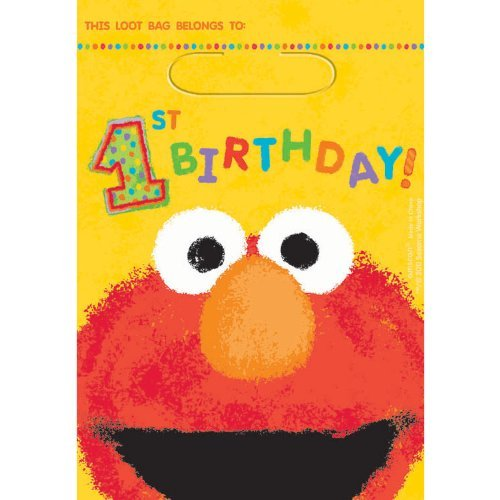 Elmo Treat Bags Party Accessory ()