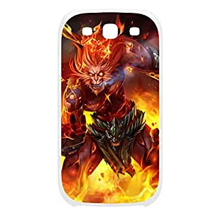 Wukong-006 League of Legends LoL case cover Samsung Galaxy Note3 Plastic White