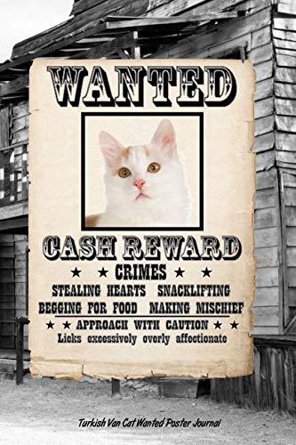 (Turkish Van Cat Wanted Poster Journal)