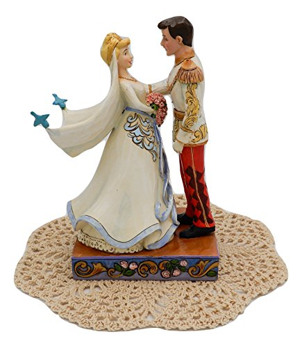 Disney Traditions Royal Wedding collection with Westbraid Doily (Happily Ever After (Cinderella & Prince Charming))