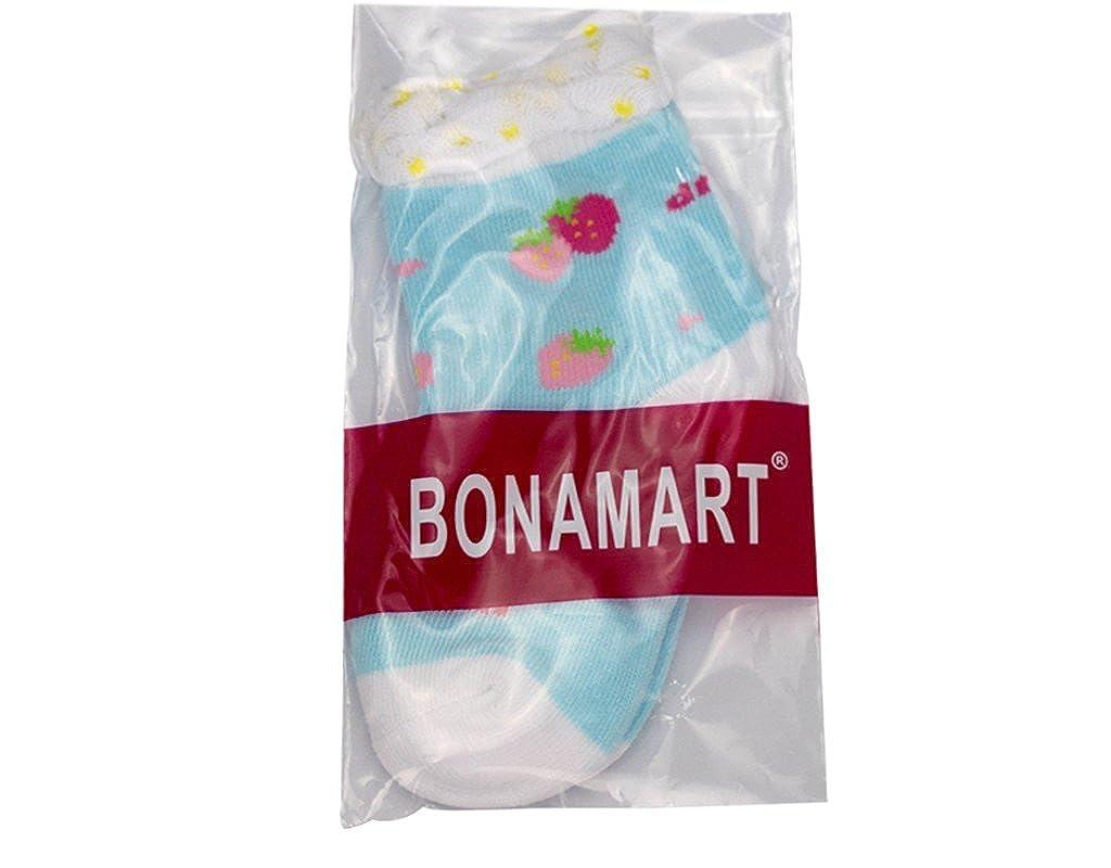 BONAMART 5 Pack Baby Kids Girls Boys Ankle socks 4-6 years