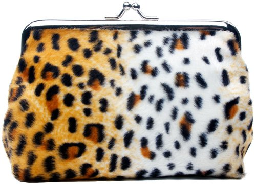 Sourpuss Cheetah Coin Purse