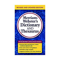 MERRIAM - WEBSTER INC. MERRIAM WEBSTERS DICTIONARY & (Set of 6)
