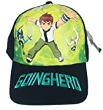 Blue Going Hero Ben 10 Baseball Cap - Ben 10 Kids Hat