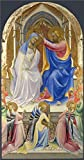 Oil Painting 'Lorenzo Monaco-The Coronation Of The Virgin,1407-9' Printing On High Quality Polyster Canvas , 16x31 Inch / 41x78 Cm ,the Best Living Room Decoration And Home Decor And Gifts Is This Beautiful Art Decorative Prints On Canvas