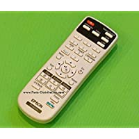 Epson Projector Remote Control: PowerLite 1221, PowerLite 1261W, PowerLite 1850W, PowerLite 1880, PowerLite 420, PowerLite 425W, PowerLite 430, PowerLite 435W, PowerLite 470, PowerLite 475W, PowerLite 480, PowerLite 485W, PowerLite Home Cinema 710HD, PowerLite S11, PowerLite X12, PowerLite X15