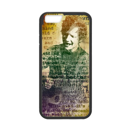 """Fayruz - iPhone 6 Rubber Cases, Ed Sheeran Hard Phone Cover for iPhone 6 4.7"""" F-i5G45"""