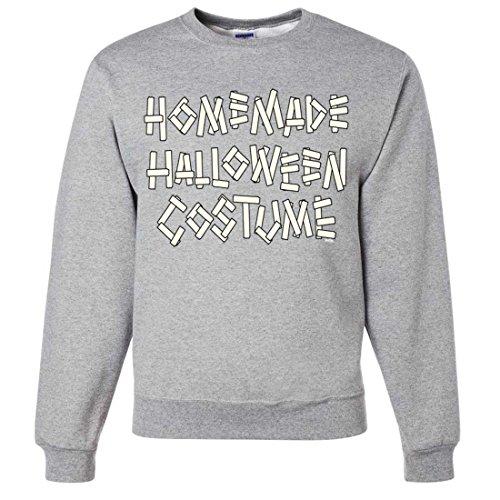Homemade Halloween Costume Crewneck Sweatshirt - Ash (Ash Costume Homemade)