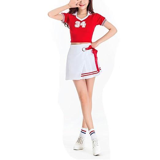 Yiwa niña Copa del Mundo Vestido fantasía Animadora Disfraz fútbol ...