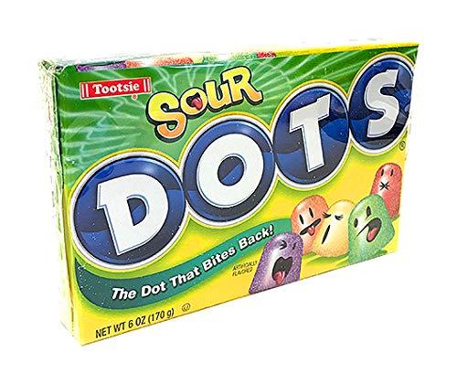Tootsie Sour Dots Assorted Flavor Gumdrops, 6 oz