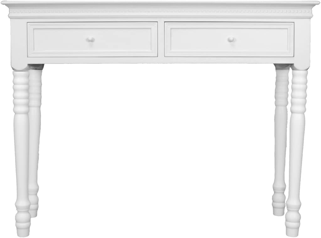 Console blanche Belgravia Sylvester Oxford Ltd