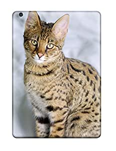 Excellent Ipad Air Case Tpu Cover Back Skin Protector Savannah Cats