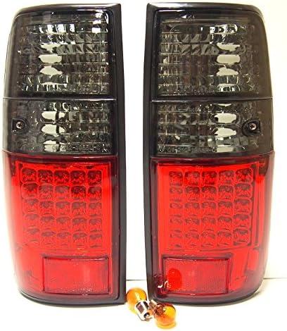 LH + RH Cola luces con luz LED de freno y ahumado intermitente