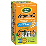 Nature's Plus - SOL Animal Parade Sugar-Free Vitamin C Orange Juice Flavor