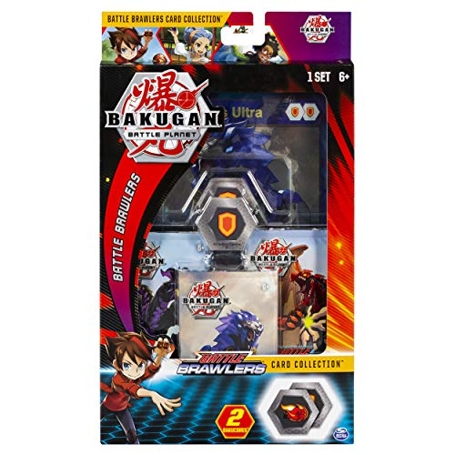 - Bakugan, Deluxe Battle Brawlers Card Collection with Jumbo Foil Hydorous Ultra Card, for Ages 6 and Up