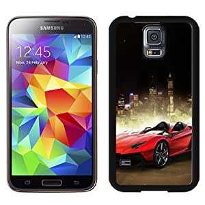 NEW DIY Unique Designed Samsung Galaxy S5 Phone Case For Red Two Door Sports Car Phone Case Cover
