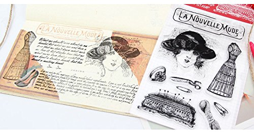 Layhome Silicone Rubber Clear Stamp New Arrival (#01) by Layhome (Image #2)