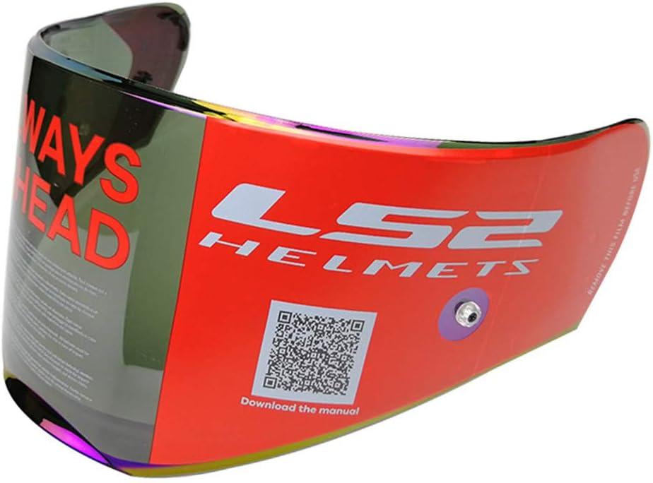 LS2 Helmets FF390 Breaker Road Touring Motorcycle Helmet Visor Face Shield with Pinlock Clear
