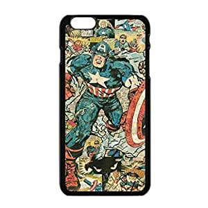 Customized Captain America Cool Beautiful Case Cover For Apple Iphone 6 4.7 Inch