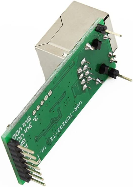 USR-TCP232-T2 TCP Server Module Multiple Serial Device Ethernet Converter Module Serial UART TTL to Ethernet TCPIP Module Support DHCP and DNS