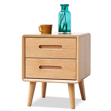 Mesita de noche de madera maciza con mesita auxiliar, mesa ...