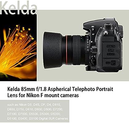 Fotograma Completo de Kelda 85 mm F1.8 Enfoque Manual Teleobjetivo ...