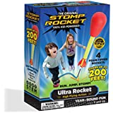 Stomp Rocket Ultra Rocket, 4 Rockets - Outdoor Rocket Toy Gift for Boys and Girls - Comes with Toy Rocket Launcher - Ages 5 Years Old and Up