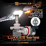 [Upgraded] Luxx ES Series - 80W All-in-One 360° LED Kit - Cool White 6000K 6K - Headlights Low and High Beam - 9,000 lm - H13 / 9008
