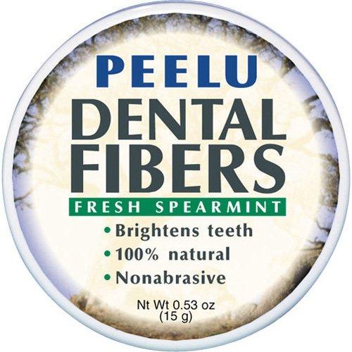 Peelu Dental Fibers Spearmint -- 0.53 (Peelu Toothpaste Spearmint)