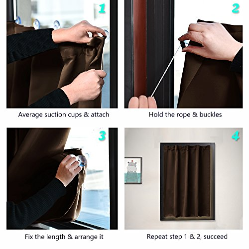 Portable blackout curtain blind for travel pony dance for Portable window curtain