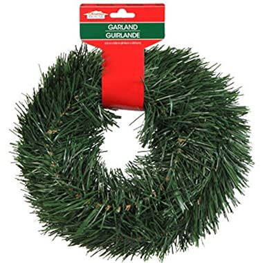 Christmas Decor - Christmas House Artificial Pine Garlands, 15 ft. (SET OF 2)