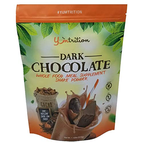 Dark Chocolate Whole Food Meal Supplement