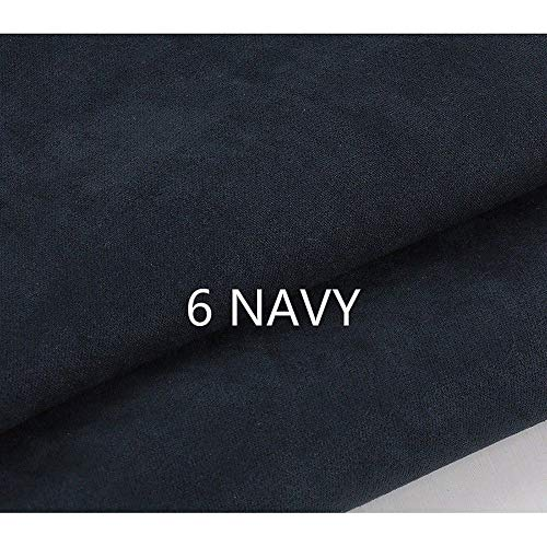 Tong Gu Faux Suede Cloth Fabric DIY Suedette Material for Upholstery Cushion Chair Furniture Cover Curtain