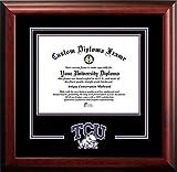 Texas Christian University Mascot Logo Diploma Frame (OTHER)