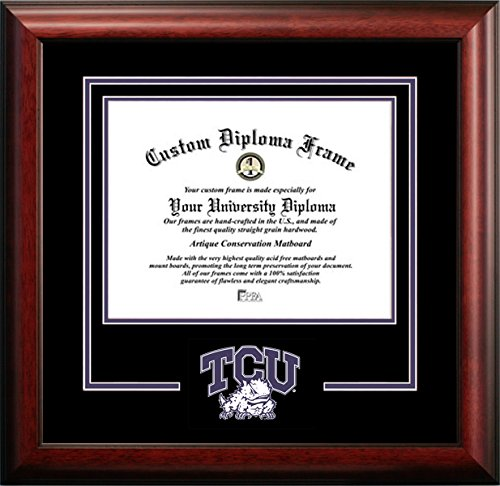 Texas Christian University Mascot Logo Diploma Frame (OTHER) by Diploma Frame Deals