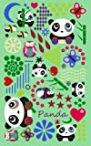 Panda: Gifts / Gift / Presents ( Panda Bear / Owl / Butterfly & Bee Notebook ) (Kids 'n' Teens)