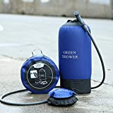Camping Shower Portable Foot Pump Pressure for Outdoor Sports Beach, 2.91 Gallons