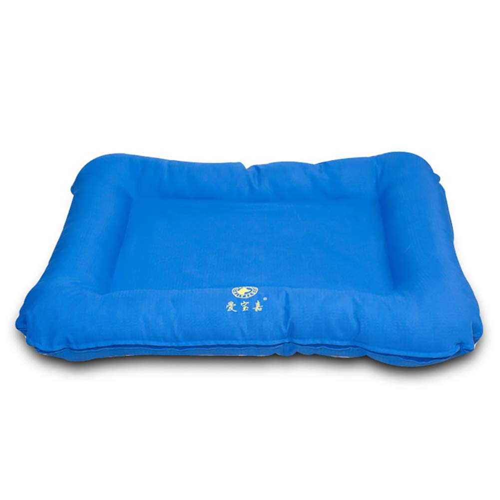 bluee XL(1107813cm) bluee XL(1107813cm) Memory Foam Pet Mat Cushion   Bed for Dog Cat, Washable Oxford Farbic, Lightweight,Waterproof, Available in All Seasons, 3 Size Optional
