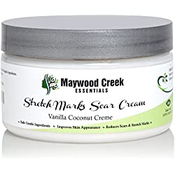 BEST ORGANIC STRETCH MARK REMOVAL CREAM - Best Belly Butter for Women & Men - GREAT for Removing Stretch Marks Due to Pregnancy & Weight Gain - SAFE for Pregnant Moms (4)