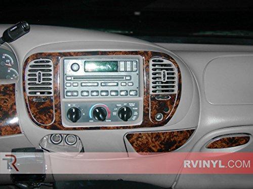 Rdash Dash Kit Decal Trim for Toyota Tundra 2000-2004 Burlwood Honey Wood Grain