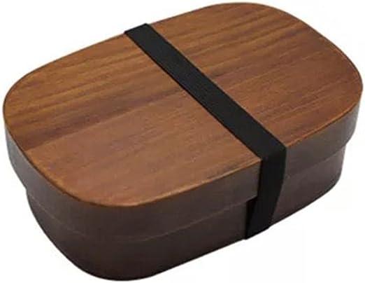 Japanese Bento lunch box scatole in legno fatto a mano in legno naturale sushi box stoviglie ciotola contenitore ciotola tavola Travel Organizer