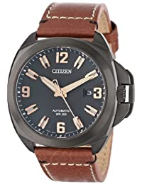 Mens Watch Citizen NB0075-11F Signature Signature Automatic Stainless Steel Case